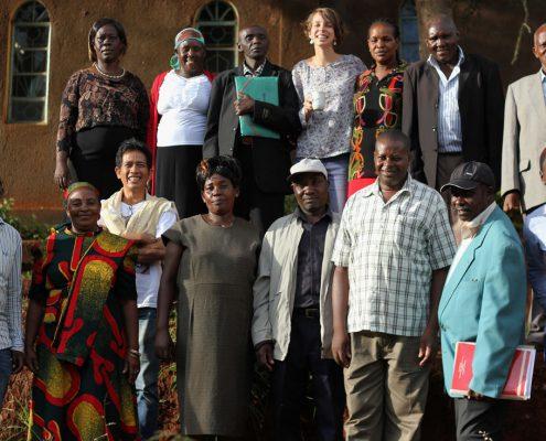 Group Photo with Fahamu Team & Organic farmers of Machakos