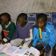 Children enjoying Reading