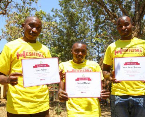 Project Heshima Graduation - Muranga County